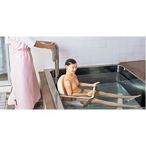 入浴介助練習モデル/看護実習モデル人形 【清子さん】 身長160cm シャワー/スポンジ/洗剤使用可 M-100-2