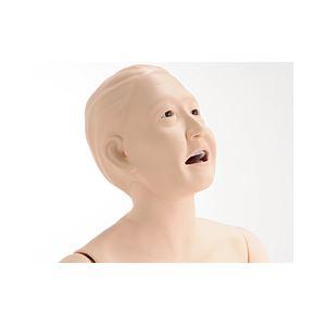 お年寄り介護モデル/看護実習モデル人形 【小春さん】 シリコン製 防水 義歯取りはずし可 M-100-5