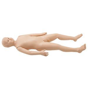 タケシくん(小児モデル/看護実習モデル人形) シリコン製 入浴可 シームレス M-106-1